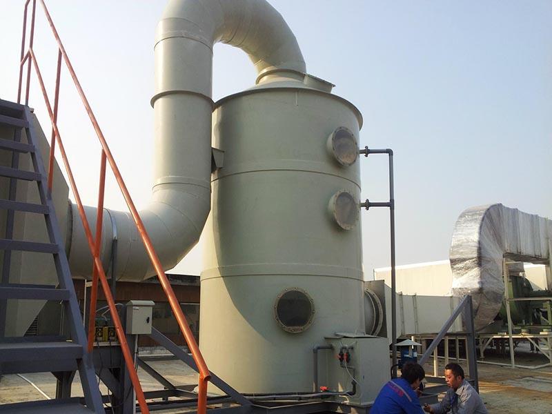PP洗涤塔工程