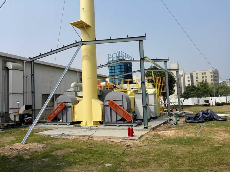 催化燃烧设备工程