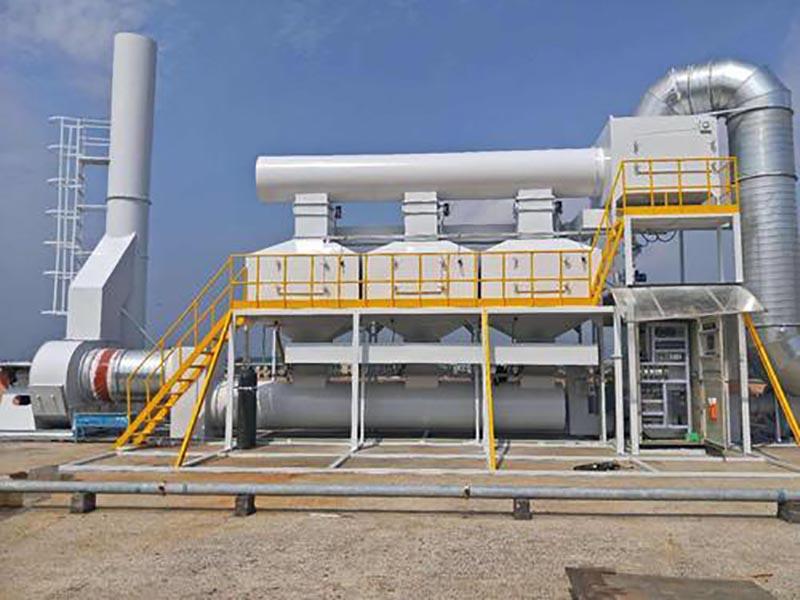 PP活性炭吸附箱工程