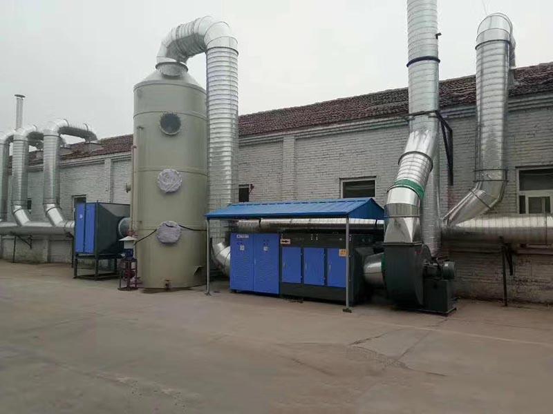 低温等离子废气工程